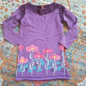Tea collection purple dress